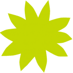 Floriant bloem geel